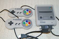 Super Nintendo Entertainment System Classic Mini 20+1 classic games preinstalled