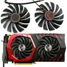 Cooler Fan for MSI RX470 480 570 580 GTX1080 1070 1060 960 GAMING Card Set