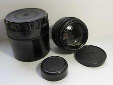 Jupiter-9 2/85mm LZOS BLACK lens with M42 SLR Zenit screw mount . #8710957