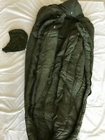 BRAND NEW GENUINE US MILITARY EXTREME COLD WEATHER SLEEPING BAG OD GREEN VINTAGE