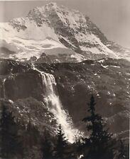 Emmanuel GYGER (1886-1951) photographer switzerland mountain waterfall snow