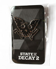 State of Decay 2 Xbox One Rare Black Promo Pin from Gamescom 2017