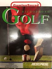 Microprose Golf BIG BOX Atari ST, Supplied by Gaming Squad