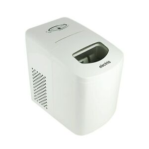 electriQ Counter Top Ice Maker in White
