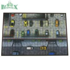 Heroclix Wizkids Parking Garage Premium map (comes rolled in its box/container)!