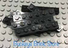 LEGO Lot of 8 1x6 Black Plate 6291 6086 10040 6285 6243 6274 4547 10018 5571