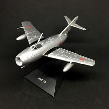 MiG-15 Mikoyan-Gurevich Fighter Aircraft 1949 Year 1/100 Scale Model with Stand
