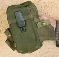 VIETNAM 1974 DATED US MILITARY SMALL ARMS NYLON AMMO AMMUNITION POUCH CASE
