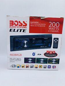 BOSS Audio Elite 460BRGB Car Stereo, Bluetooth, NO CD, Multi Color Illumination