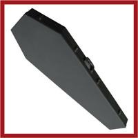 COFFIN CASES Model 300VXBK  Extreme Electric Guitar Case Black Interior