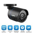SANNCE 1x 900TVL Outdoor Bullet Home CCTV Security Camera 100ft IR Night Vision
