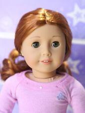 American Girl Doll 61 EARRINGS HEARING AID Red Hair Green Eyes NEW Truly Me