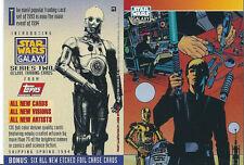 Star Wars Galaxy Series 2 - Promo Chase Trading Card # P2 - Luke - NM