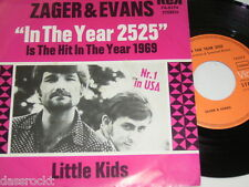 """7"""" - Zager & Evans / In the Year 2525 & Little Kids - MINT 1969 # 3281"""