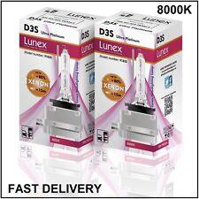 2 x D3S Genuine LUNEX XENON NEW BULB compatible with 66340 9285304244 UPT 8000K