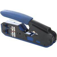 Rj45 Tool Network Crimper Cable Stripping Plier Stripper for Rj45 Cat6 Cat5E w0