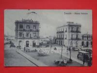 TARANTO piazza Fontana tram tramway vecchia cartolina