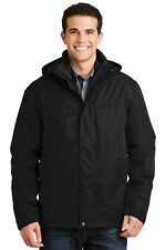J302 Port Authority Herringbone 3-in-1 Parka