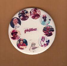 1982 PHILA PHILLIES PHOTO PINBACK ROSE SCHMIDT CARLTON