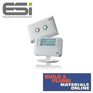 ESI Wireless Programmable Room Thermostat ESRTP4RF+ Boiler Plus Compliant