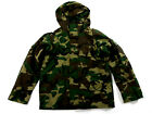 US Military Woodland Camo ECWCS Gore-Tex Parka Jacket Size Large Regular NSW