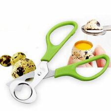 Quail Egg Scissors Cigar Cutter Stainless Steel Blade Boiled Egg Shell Tool HC