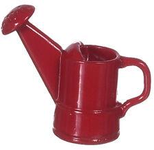 RED Annaffiatoio, DOLLS HOUSE miniatura 1.12 scala strumenti da giardino esterni