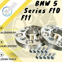 5x120 25mm ALLOY Hubcentric Wheel Spacers to fit BMW 5 Series F10 F11