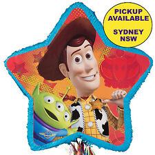 TOY STORY PARTY SUPPLIES PULL STRING PINATA PINYATA WOODY BUZZ LIGHTYEAR GAME