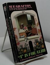 A is for Alibi by Sue Grafton - first Bantam paperback