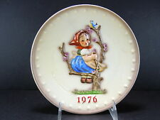 """Hummel#269 """"Spring"""" 1976 Annual Plate Bought From A Shop Going Out Of Business"""