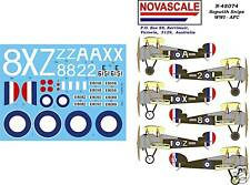 AFC Sopwith Snipe WWI Decals 1/48 Scale N48074
