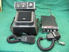 Vintage 1976 Midland CB Radio Model 13-830 + HYrange 1 Radio + Mics