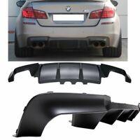 SPOILER / DIFFUSEUR ARRIERE M5 DOUBLE SORTIE POUR BMW SERIE 5 F10 ET F11 PACK M