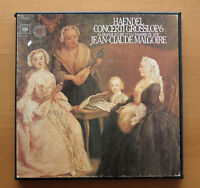 CBS 79306 Handel Concerti Grossi Jean-Claude Malgoire 3xLP + booklet NM/VG