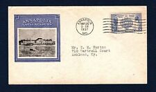 794-1 Navy Heros Linprint Cachet, addressed, SF, Clean
