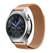 22mm Milanese Loop Band Magnetic Strap Rose Gold