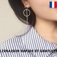 Boucle D'oreille Original Longue Bijou Femme Cadeau Soirée Mode Fête Des Mère