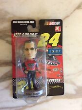 NASCAR Driver Jeff Gordon Mini Bobblehead Doll 2004 Bobble Dobbles