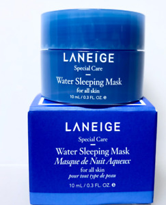 Laneige Water Sleeping Mask 10ml x 5 Brand new in box Travel size (AUS STOCK)