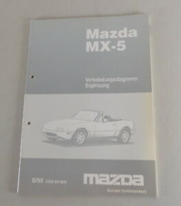 Manual de Taller Mazda MX-5 Tipo Na Eléctrico / Diagramas de Cableado De 08/1996