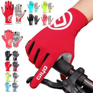 Full Finger Cycling Gloves Bicycle Bike MTB Touchscreen Motorcycle Men Women AU