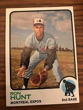 1973 Topps Ron Hunt Montreal Expos 149