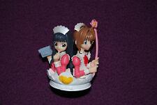 CARD CAPTOR SAKURA Gashapon Figure - Bandai - HG 1 : Sakura et Tomoyo