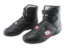 Simpson Stealth Sprint Leather Race Boots, SFI Approved, Oval/Drag, UK5 - UK13