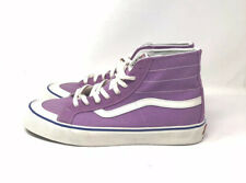 NWOB Vans Purple Suede Hi Top Sneakers Men's Size 13