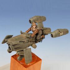 Unpainted 1/35 Resin Kit Female Aviator & Carrier Garage Kit Figure Model Statue