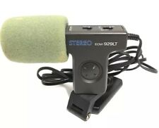 Sony ECM-929LT Electret Condensor Microphone Stereo Mic Remote Capable + Filter