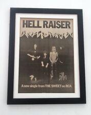 The SWEET Hellraiser 1973 *ORIGINAL *POSTER *AD *FRAMED* Advert