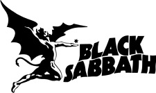 Black Sabbath + Logo Aufkleber Auto Deko Folie 16 x 10 cm viele Farben ANSEHEN